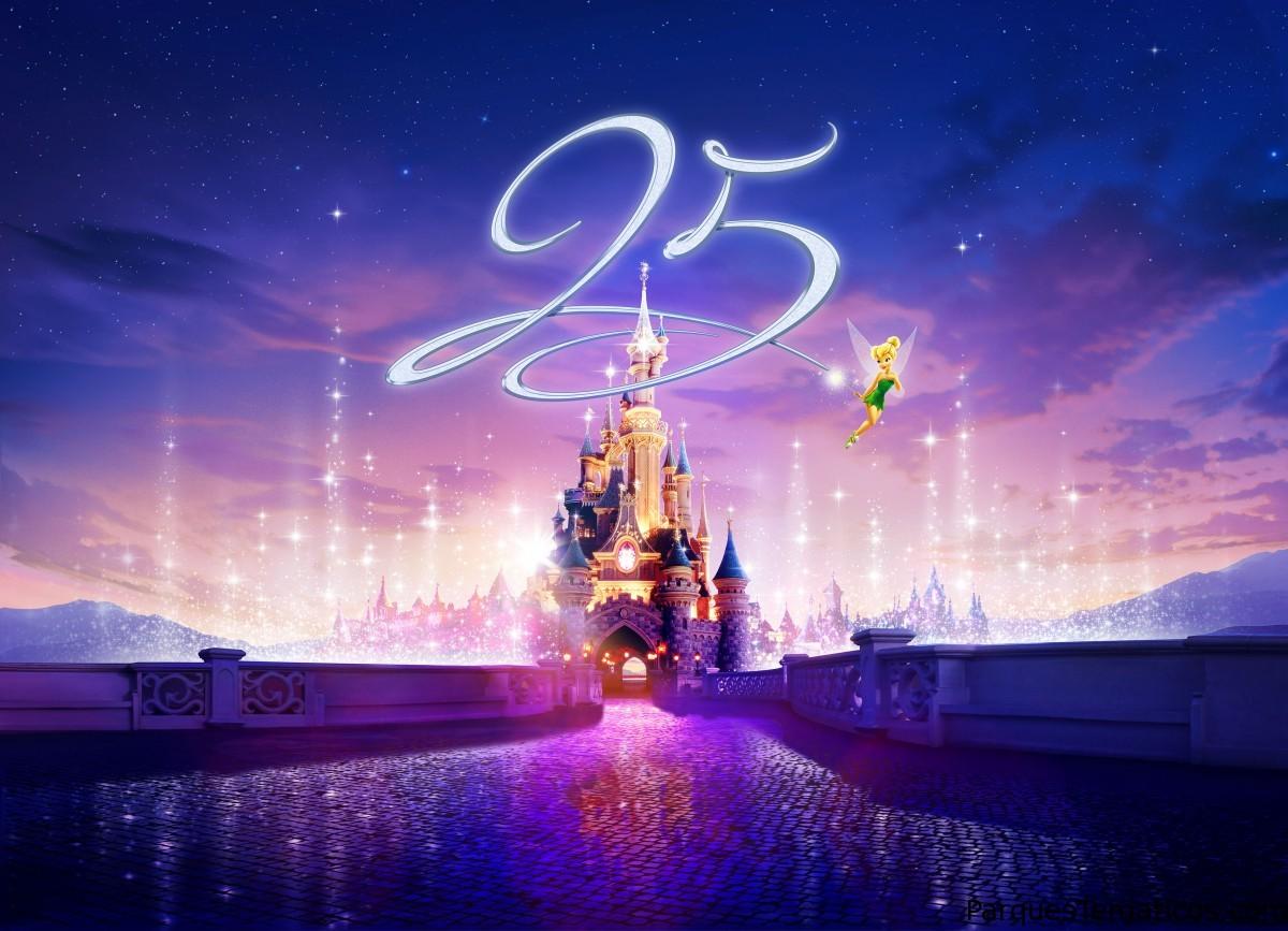 Disneyland Paris anuncia la celebración de su 25 aniversario