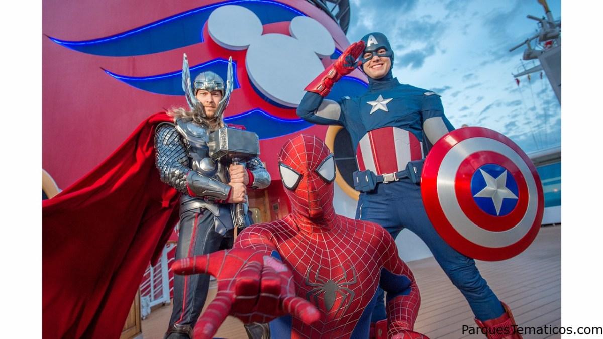 Disney Cruise Line introduce los personajes de Marvel en cruceros Disney Magic