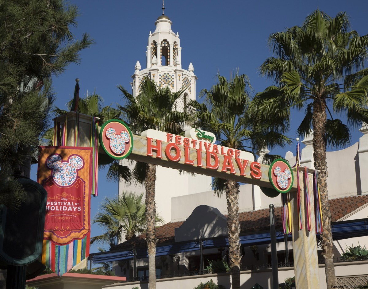 Disney California Adventure presenta como novedad el Festival of Holidays