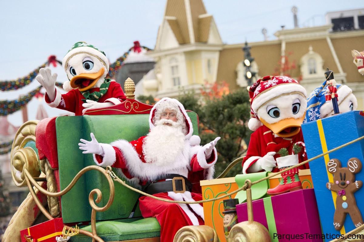 Vive una Navidad única en Disneyland Paris