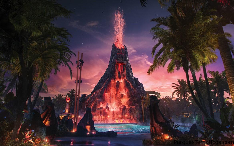 Ya a la venta: Boletos para el parque temático acuático Universal's Volcano Bay
