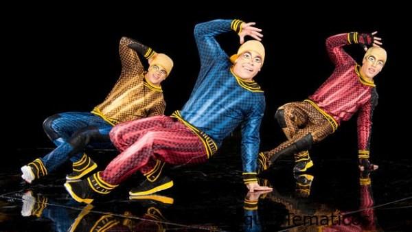 Le Théâtre Situado en el West Side de Disney Springs, el asombroso teatro se construyó especialmente para Cirque du Soleil. En el exterior, se asemeja a una enorme carpa de circo de marfil. En el interior, un elaborado escenario mecánico incluye jaulas movibles de vidrio, plataformas y decorados ingeniosos, con sistemas de iluminación y sonido de primera clase que crean una metamorfosis onírica de actuación en actuación.