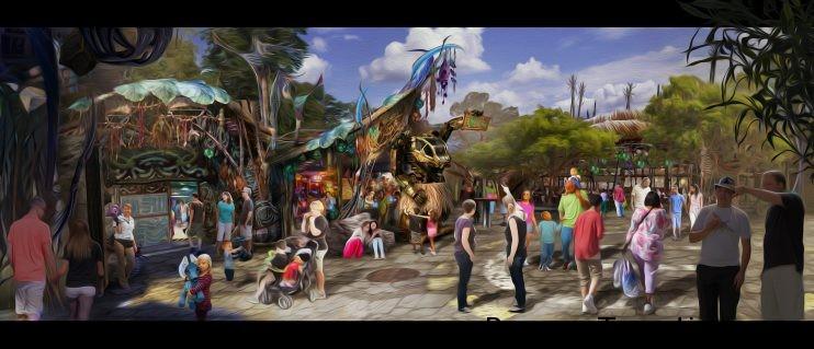 Pandora, el Mundo de Avatar en Disney's Animal Kingdom