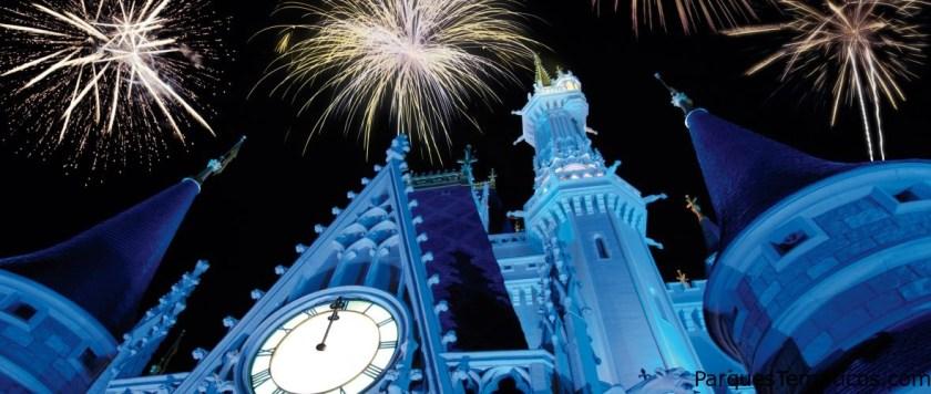 Pasa la víspera de Año Nuevo en Disney World