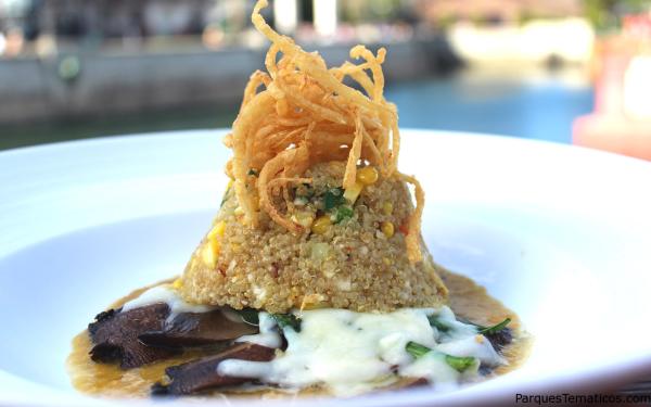 Portobello Quinoa   Lombard's Seafood Grille