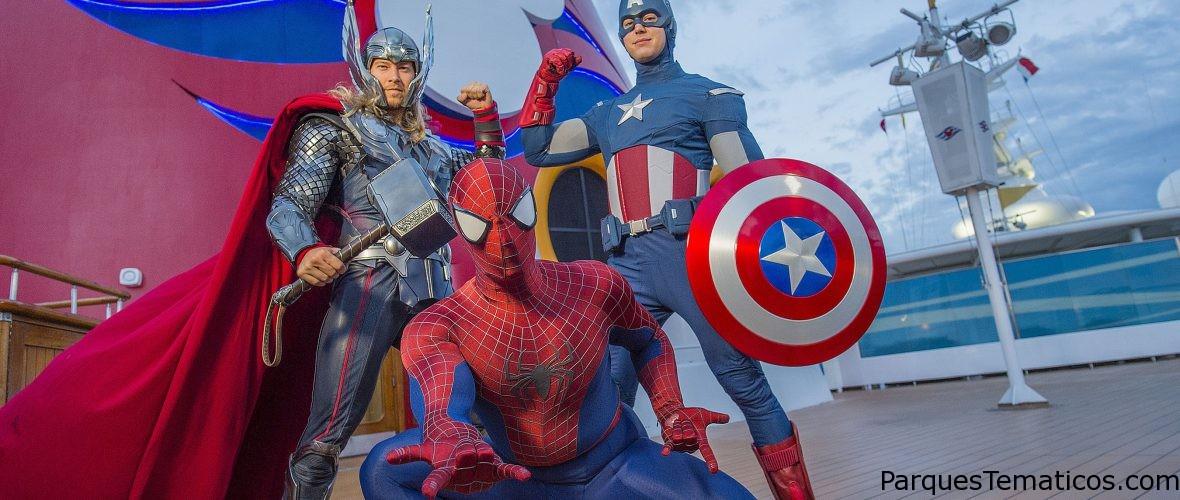 """Disney Cruise Line extiende """"Marvel Day at Sea"""" en Disney Magic Miami en 2018"""