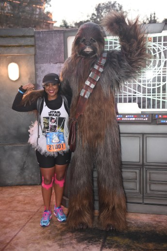 El poder de la fuerza: Media maratón de Star Wars en California