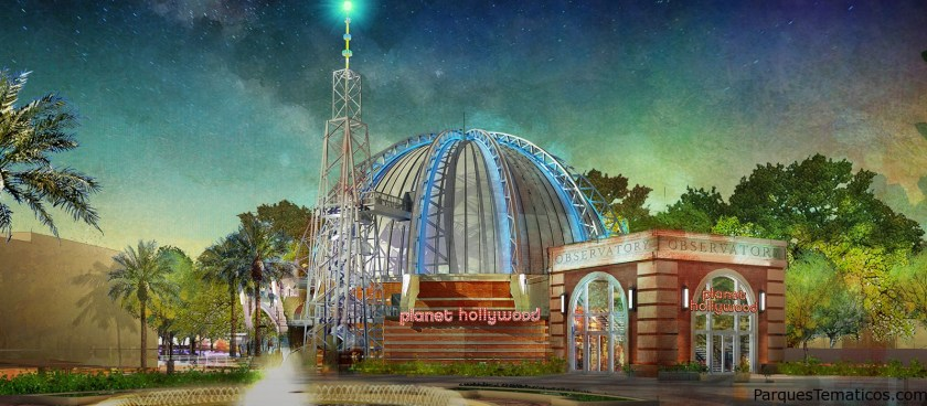 PLANET HOLLYWOOD OBSERVATORY EN DISNEY SPRINGS