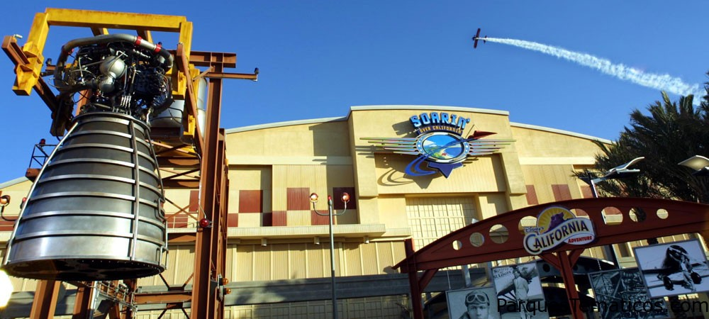 Soarin' Over California en Disney California Adventure