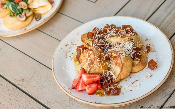 Caribbean French Toast – Caramelized pineapple and toasted coconut for those of you who have a bit of a sweet tooth.