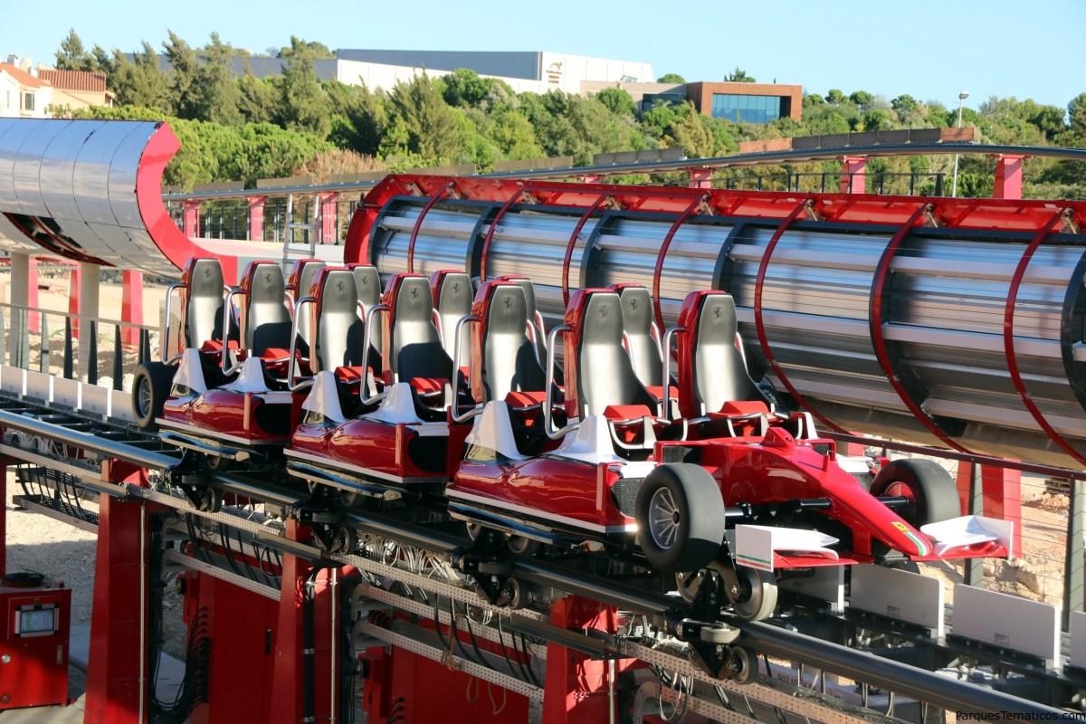 Ferrari Land acelera a 180 km/h el 7 de abril en PortAventura