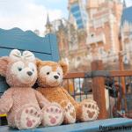 Los osos más conocidos de Disney disfrutan el día de los enamorados en Disney Shangai