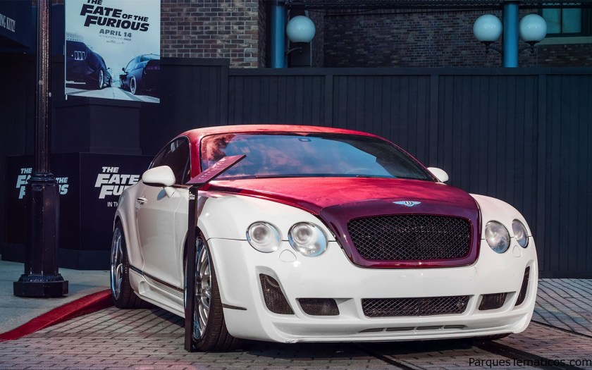 Snap a selfie in front of Roman (Tyrese Gibson)'s 2004 Bentley GT, a turbocharged beauty.