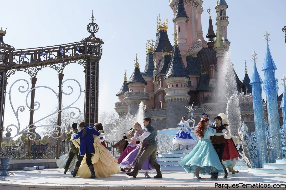 Feliz Aniversario Disneyland Paris! y el Vals de las Princesas