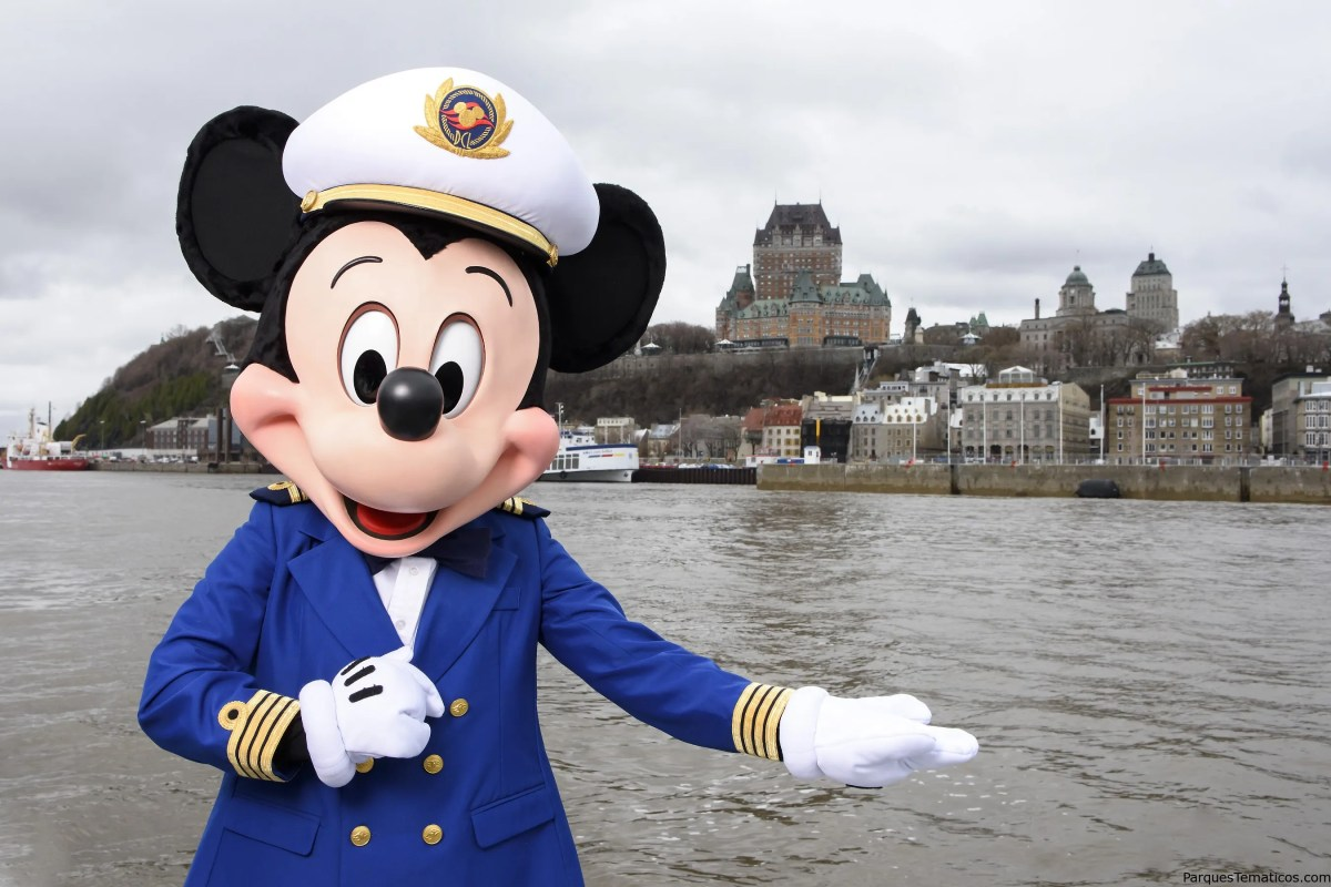 Disney Cruise Line visitará Bermuda y la ciudad de Quebec, Canadá, por primera vez en el otoño de 2018