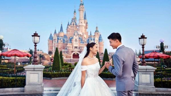 Bodas en Disney Shangai