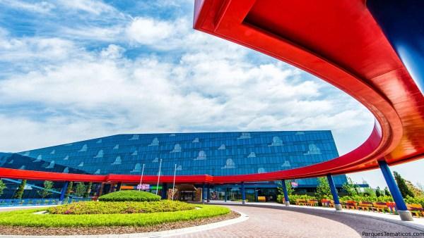 El hotel de Toy Story en Disney Shangai, realmente increíble