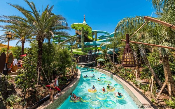 Universals Volcano Bay Action River