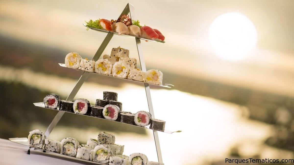Los mejores lugares para comer Sushi en Walt Disney World Resort
