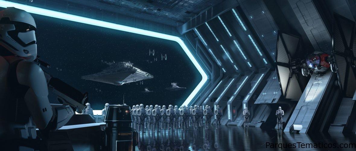 El Presidente de Walt Disney Parks and Resorts devela épico modelo de territorios de Star Wars
