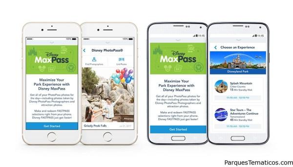 Más datos sobre el Disney MaxPass en Disneylandia, California