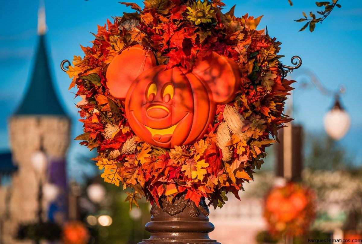 Opciones para celebrar el Otoño en Walt Disney World Resort