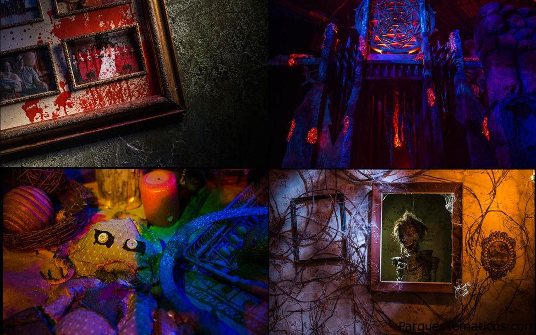 Cuatro espeluznantes casas originales son reveladas para Halloweeen Horror Nigths 2017