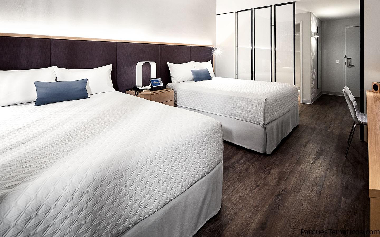 LAS HABITACIONES DE UNIVERSAL'S AVENTURA HOTEL