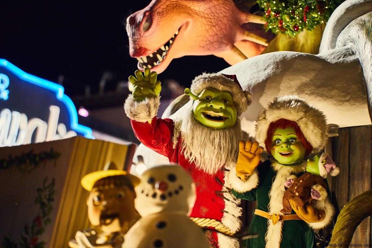 Nuevas experiencias en el desfile de Acción de Gracias y la Navidad con Harry Potter