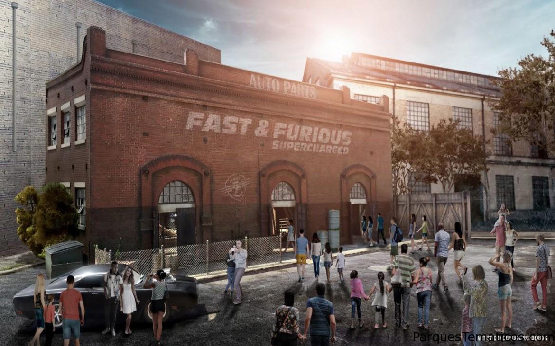Universal Orlando Resort Comparte Nuevos Detalles Y El Primer Vistazo Tras Bastidores De La Próxima Atracción Fast & Furious – Supercharged