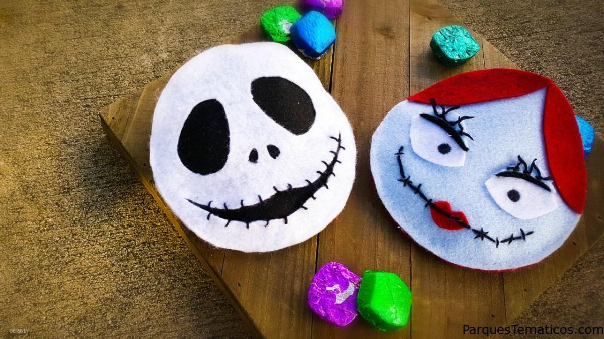 """Halloween DIY: crea una bolsa de dulces inspirada en """"Nightmare Before Christmas"""""""
