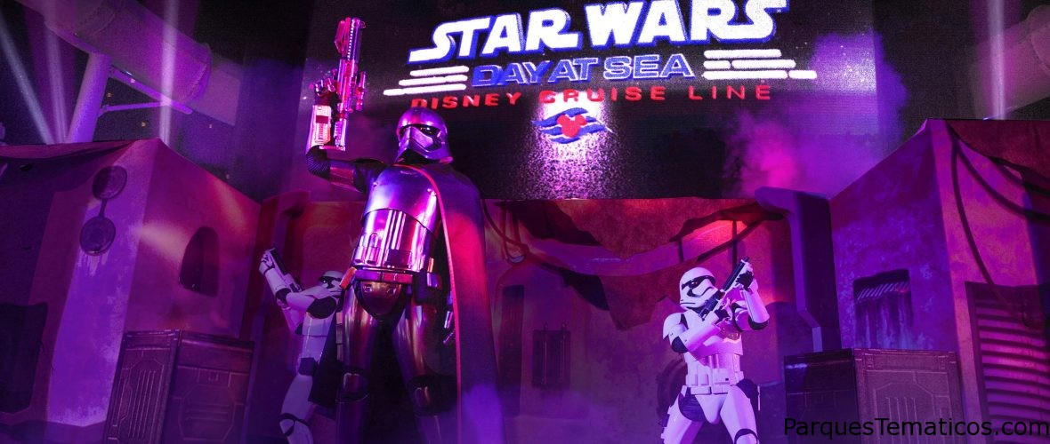 En 2019 Disney Cruise Line embarca a sus viajeros en aventuras épicas de Star Wars Day y Marvel Day at Sea