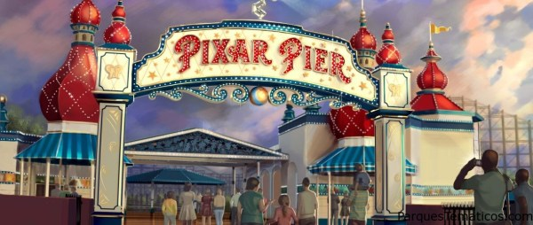 Pixar Pier debuta el 23 de junio de 2018 con la nueva montaña rusa Incredicoaster, inspirada en 'The Incredibles', en Disney California Adventure Park