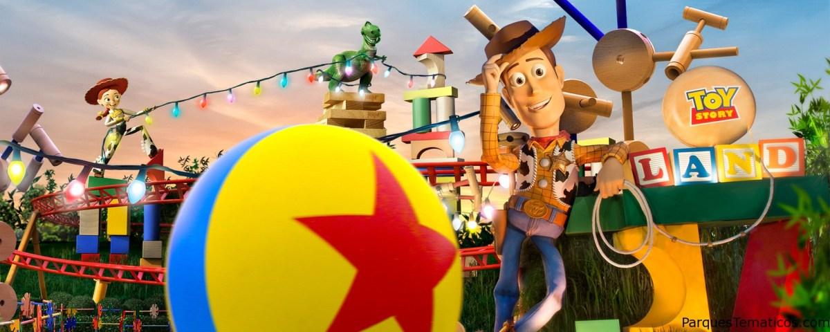Toy Story Land, apertura el 30 de junio de 2018, aventuras para niños y adultos