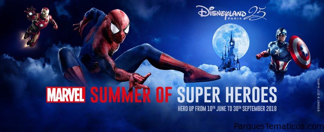 Disneyland Paris revela las primeras imágenes del nuevo espectáculo del Verano de los Superhéroes Marvel