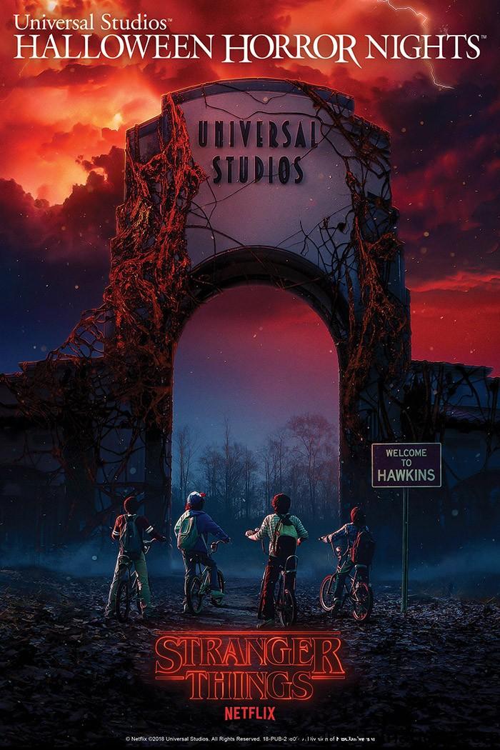 De Hawkinks a Universal Studios, llega STRANGER THINGS a Halloween Horror Nigths