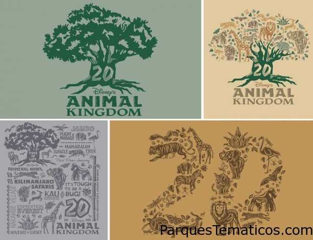 Disney's Animal Kingdom rinde homenaje en su 20mo Aniversario