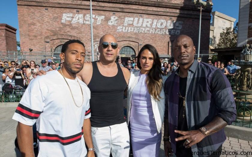 Las estrellas de Fast & Furious comparten su emoción sobre la nueva atracción en Orlando