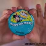 Cinco formas mágicas de celebrar cumpleaños en Disneyland