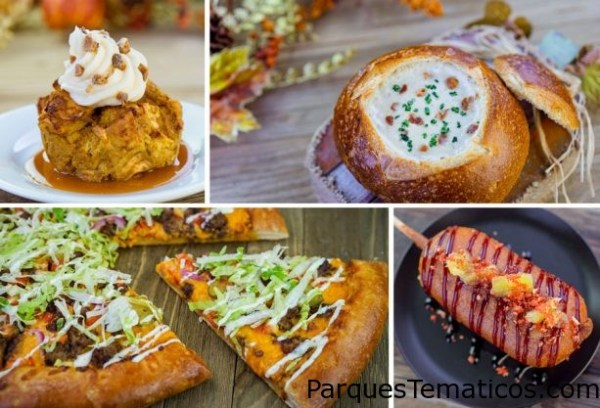 Cuatro opciones saladas más de snacks de Halloween que maravillan a quienes los prueban en Disneylandia