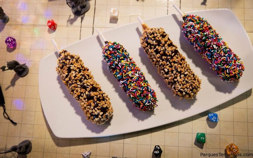 Fudge Dipped Waffle on a Stick - Halloween Horror Nights 2018