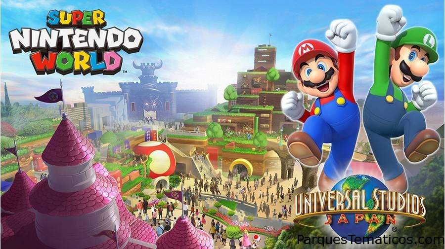 Super Nintendo World en 2021