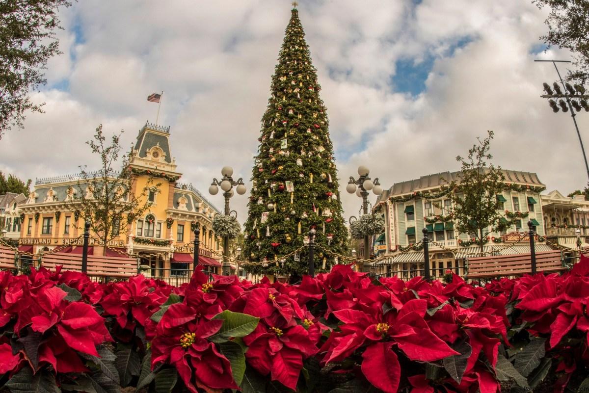 Fiestas navideñas y de celebracion de año nuevo y viejo Disneylandia