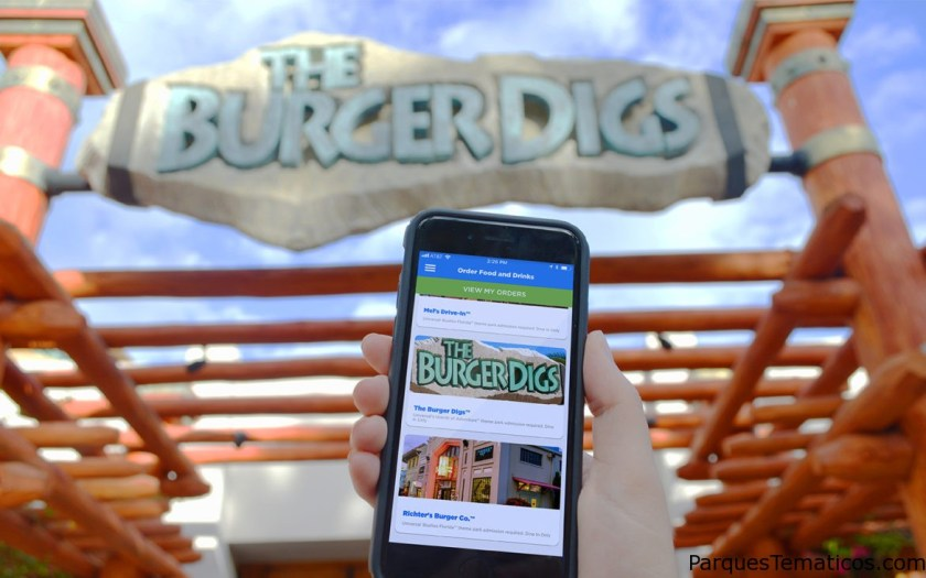 Mobile Express Pick Up está disponible en restaurantes de Universal Orlando