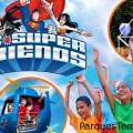 Nueva área infantil DC Super Friends y Looney Tunes llegarán a Six Flags México en 2019