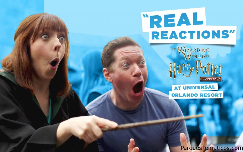 """Reacciones """"reales"""" en Hogsmeade Universal Orlando"""
