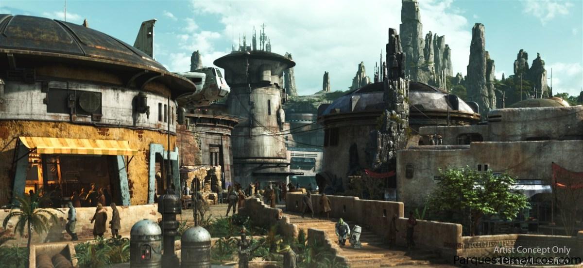 Star Wars: Galaxy's Edge, el parque sin abrir ya batió récords