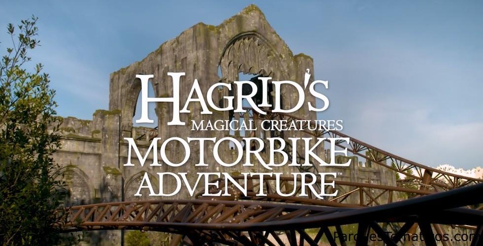 Hagrid's Magical Creatures Motorbike Adventure, detalles completos