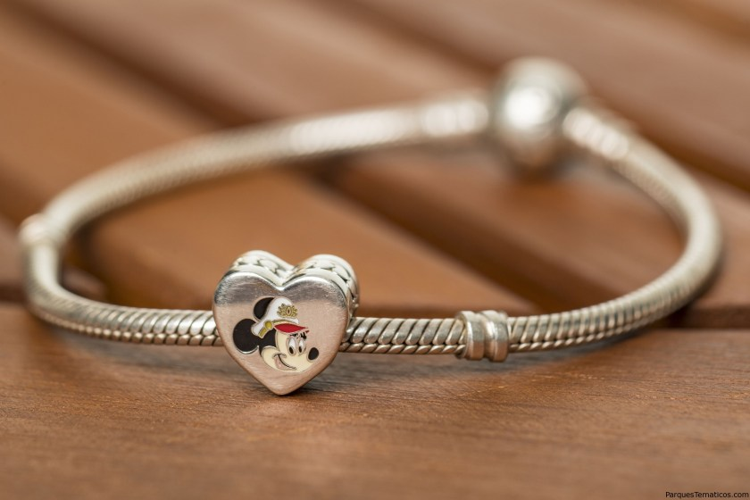 To celebrate the excitement of Captain Minnie Mouse at the helm, Disney Cruise Line unveiled a new PANDORA Jewelry charm available for purchase exclusively aboard Disney ships. The debut of Captain Minnie Mouse is part of a collection of new initiatives aiming to inspire the next generation of female leaders in the maritime industry