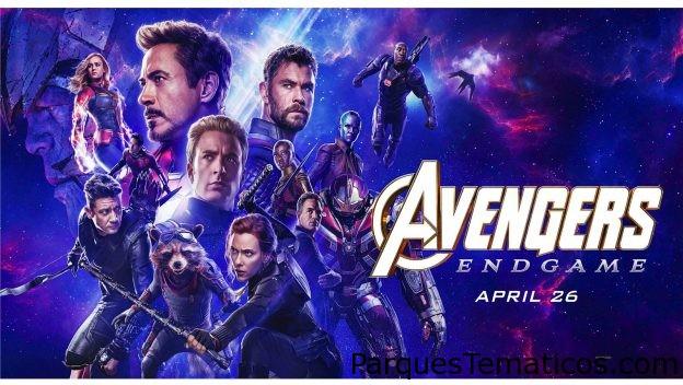 Avengers: Endgame en los cines de AMC en Disney Springs hoy y mañana